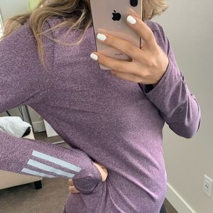 adidas Tops - Purple Adidas Pullover